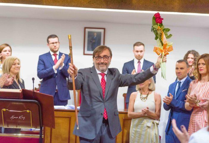 Andreu Salom, alcalde de l'Alcúdia per majoria absoluta