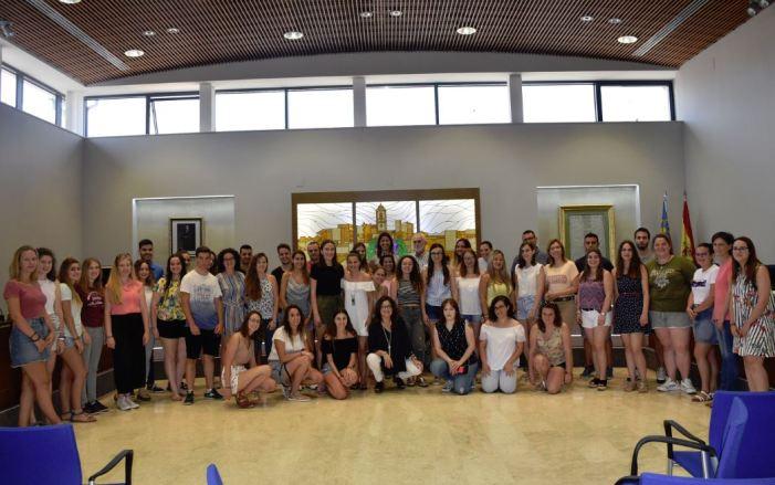 44 joves estudiants faran les seus pràctiques formatives a l'Ajuntament de Carlet.