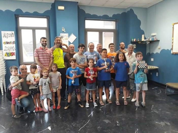 El XX Torneig d'Escacs Vila d'Almussafes obri les seues inscripcions