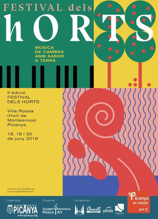 La música i els rius protagonitzen la segona edició del Festival dels Horts de Picanya