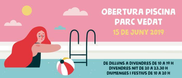 La piscina Parc Vedat de Torrent estrena la temporada de banys aquest dissabte