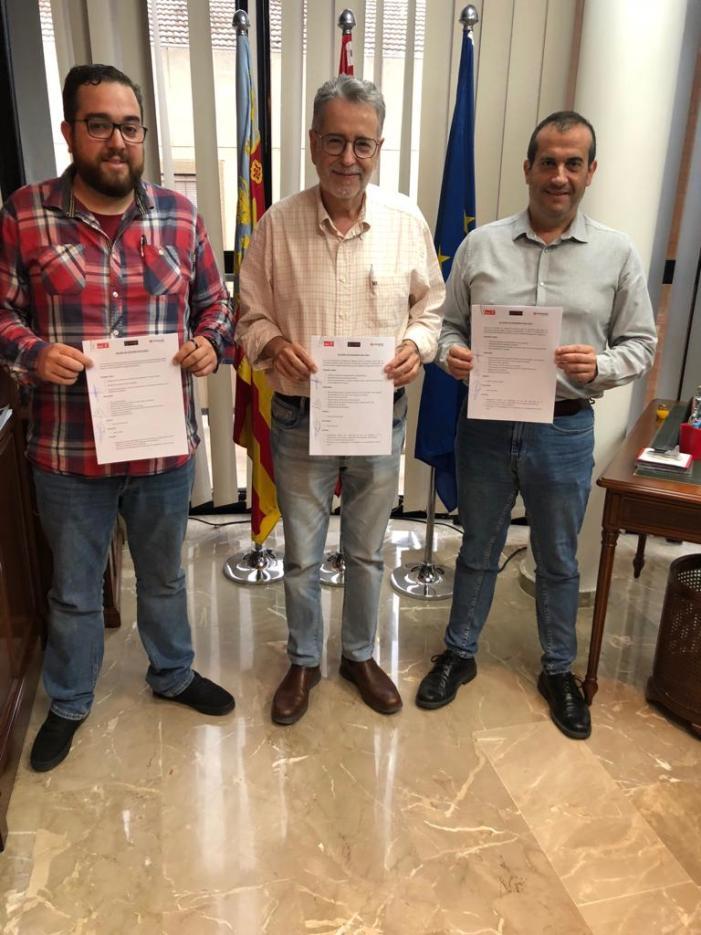 Albal signa l'acord de govern
