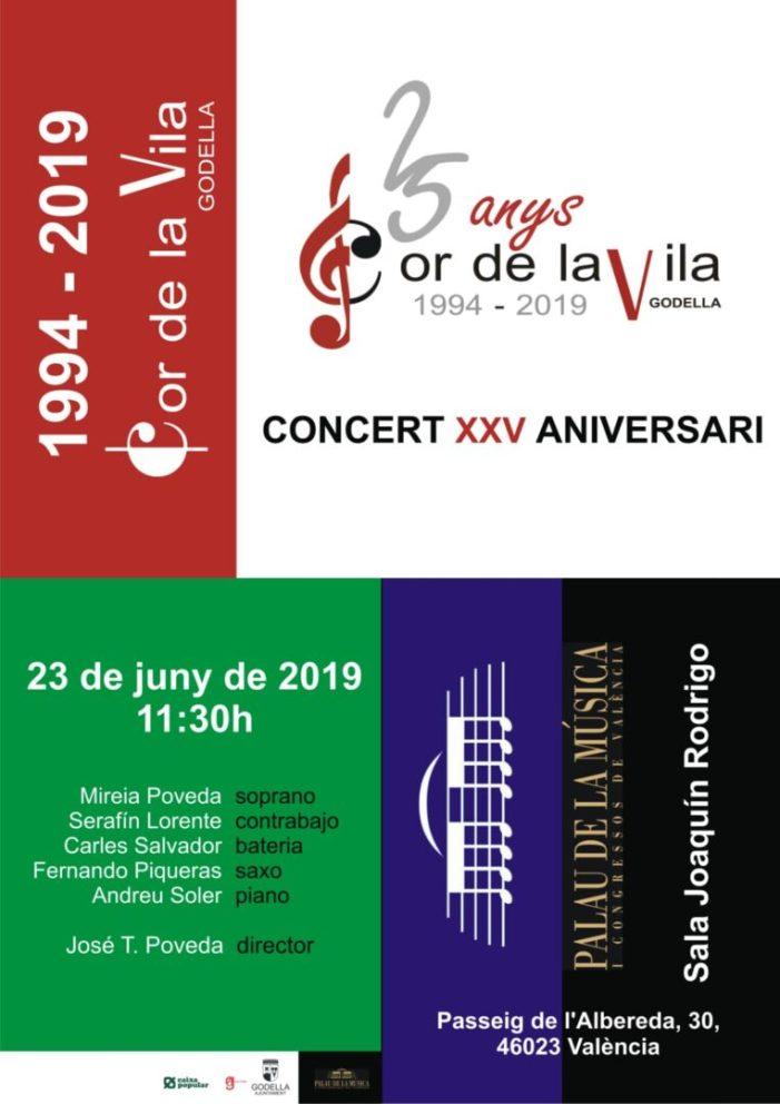 El Cor de la Vila continua la celebració dels seus 25 anys al Palau de la Música amb grans col·laboracions