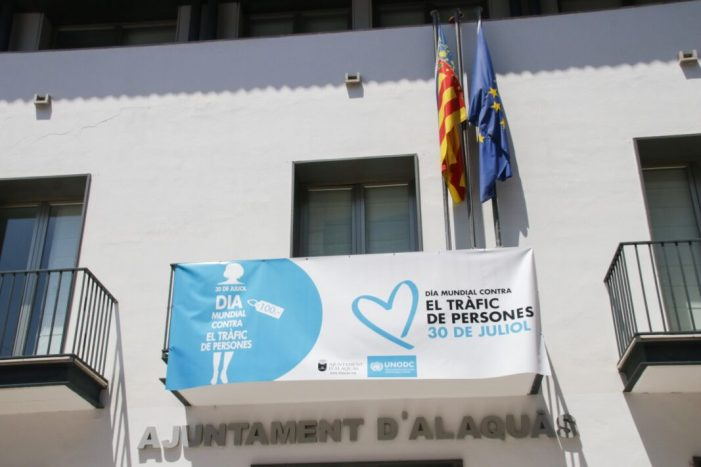 Alaquàs celebra el Dia Mundial contra la tracta de persones.