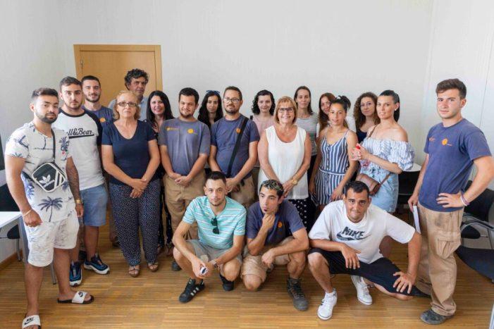 29 joves han treballat a l'Ajuntament  de Picassent durant un any mitjançant els programes d'inserció laboral Emcuju i Empuju