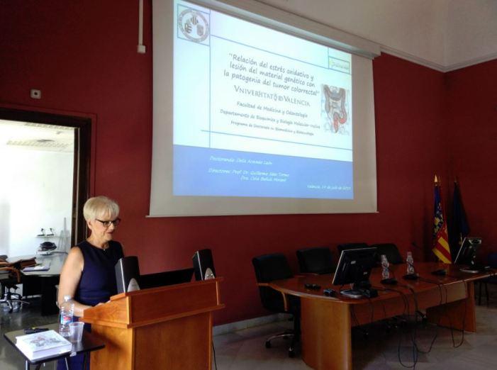 L'almussafenya Delia Acevedo completa el seu doctorat en Medicina i Cirurgia