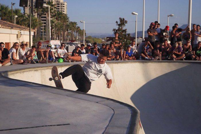 La cultura urbana s'obri pas a Cullera amb un campionat d'skate preolímpic