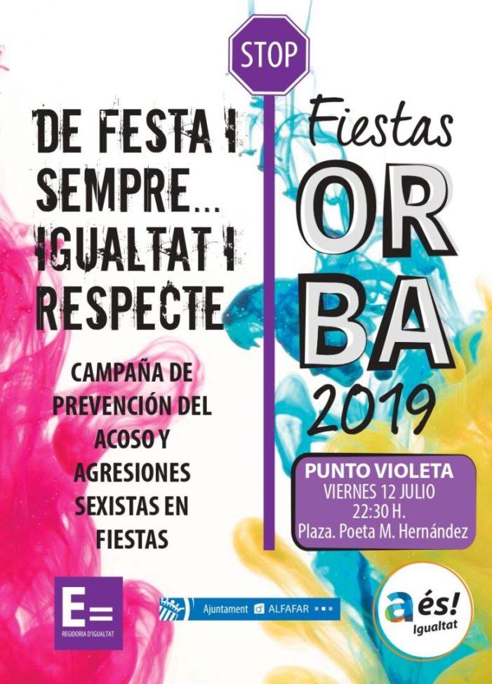 Alfafar promou unes festes del Barri Orba en igualtat