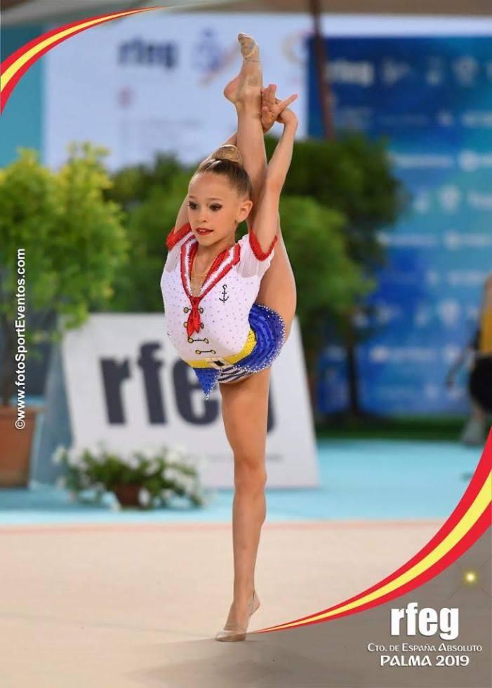 El Club de Gimnàstica Rítmica l'Almara de Burjassot es corona en conjunts i en individual a nivell nacional