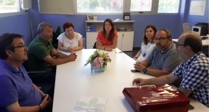 L'Ajuntament de Sagunt visita l'0ficina Comarcal d'Habitatge