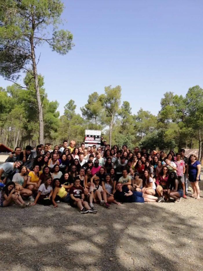 Un grup de joves de Picassent participen en la Trobada de fi de curs d'alumnat actiu