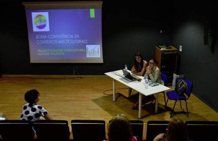 El CEIP Orba d'Alfafar participa en la trobada Erasmus +: Experiències a la Comunitat Valenciana