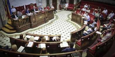 El ple municipal de l'Ajuntament de València fixa, en la primera sessió del mandat, l'organització de la nova corporació.
