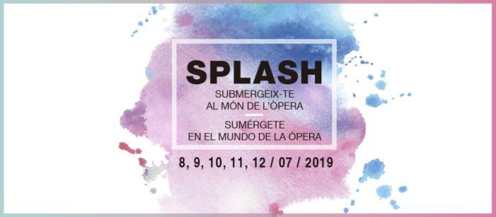 Les Arts tanca la seua programació didàctica amb el taller d'estiu 'Splash!'