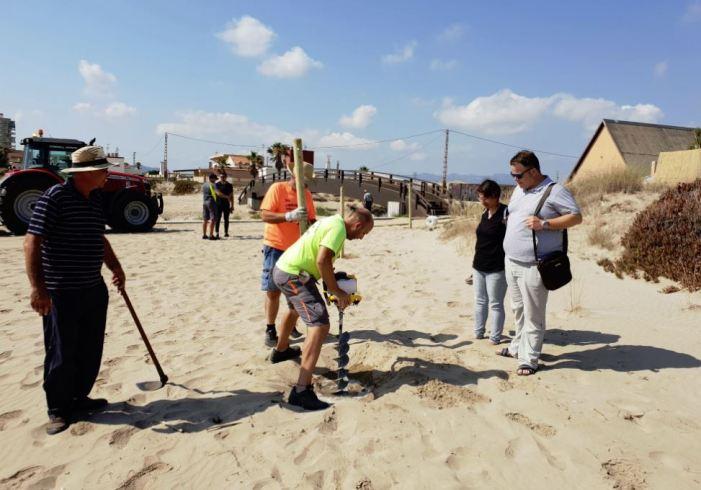 Sueca protegeix les seues dunes