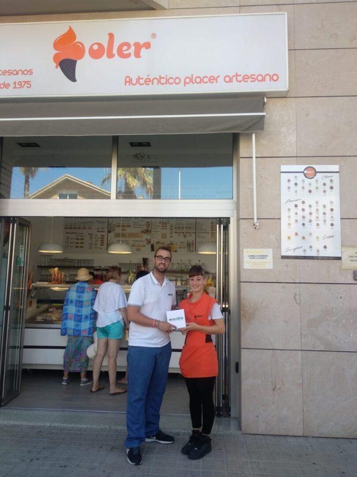 Ecovidre entrega un Pack experiència a l'establiment Soler pel seu compromís amb el reciclatge de vidre