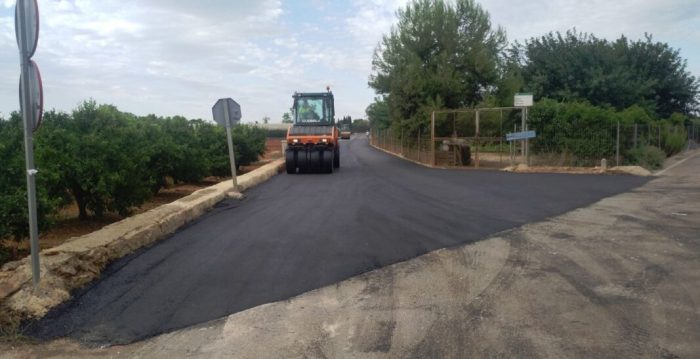 Benifaió inverteix més de 60.000€ en la millora de camins rurals