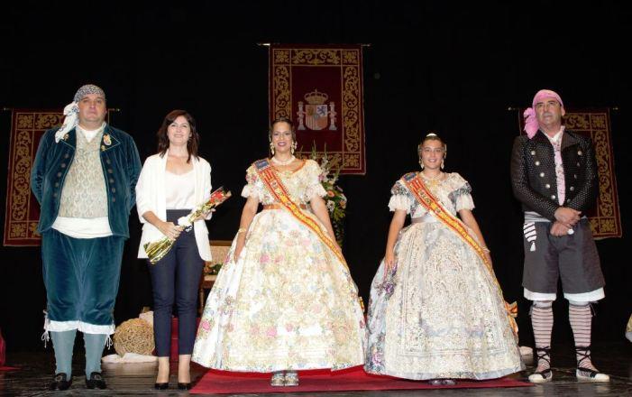 L'exaltació de les Falleres Majors de Paiporta commemora el 45 aniversari de la Junta Local Fallera