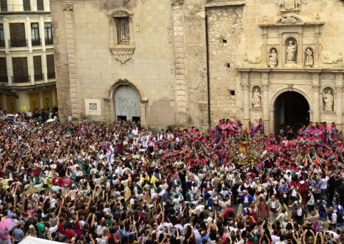 La Processó de les Promeses inicia les festes de la Mare de Déu de la Salut d'Algemesí