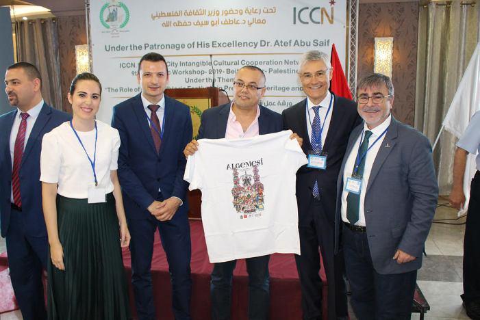 Algemesí estrena la presidència del ICCN amb la reunió anual celebrada a la ciutat palestina de Beit Sahour