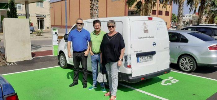 L'Ajuntament de Meliana adquireix una forgoneta elèctrica per a la brigada d'obres