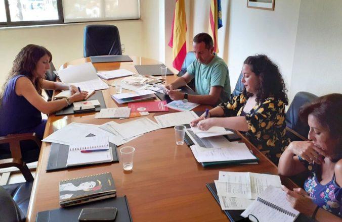 Reunió de treball a la Conselleria d'Educació per a avançar en el Pla Edificant a Paiporta
