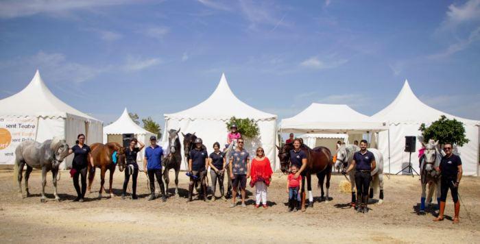 Celebrades les Carreres de joies: velocitat i destresa amb el cavall a Picassent