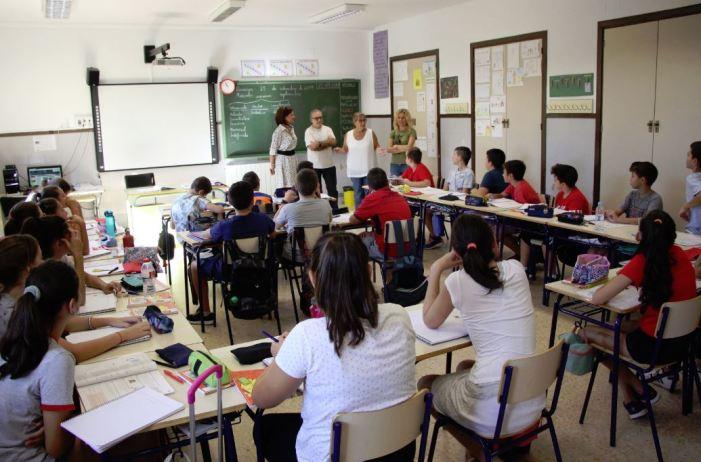 L'alcaldessa de Picassent dóna la benvinguda al curs escolar 2019-2020