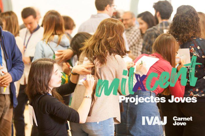 Carnet Jove de l'IVAJ convoca els Premis 'MIL X CENT 2019' per a reconéixer un centenar d'iniciatives juvenils en la Comunitat Valenciana