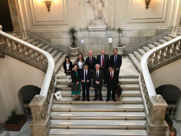 El regidor de Turisme i Internacionalització, Emiliano García, s'ha reunit amb una delegació de l'Ajuntament de Xian (la Xina)