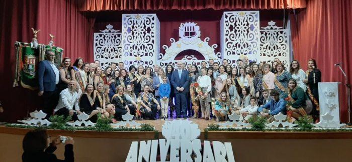 La Falla Mercat de Picassent celebra el seu 40 aniversari