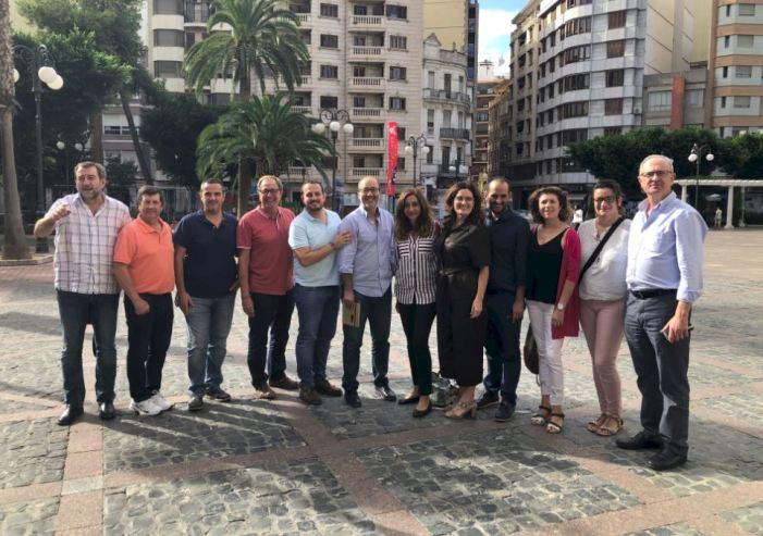 Els alcaldes i alcaldesses de Compromís de la Ribera Alta es reuneixen amb la Secretària Autonòmica de Sanitat