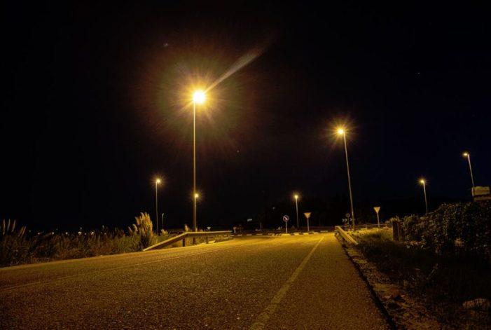 Cullera torna a il·luminar la ronda del Pont del Llaurador després de huit anys a fosques
