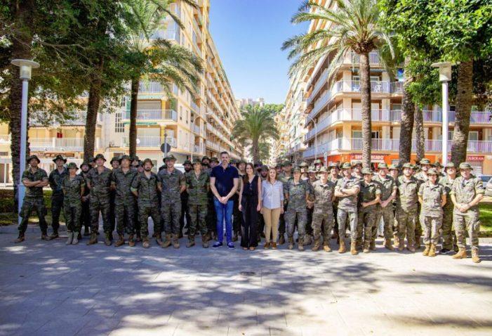 L'Exèrcit marxa per Cullera