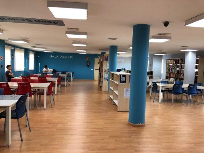 La ciutadania almussafenya decidirà l'horari especial d'obertura de la Biblioteca Municipal