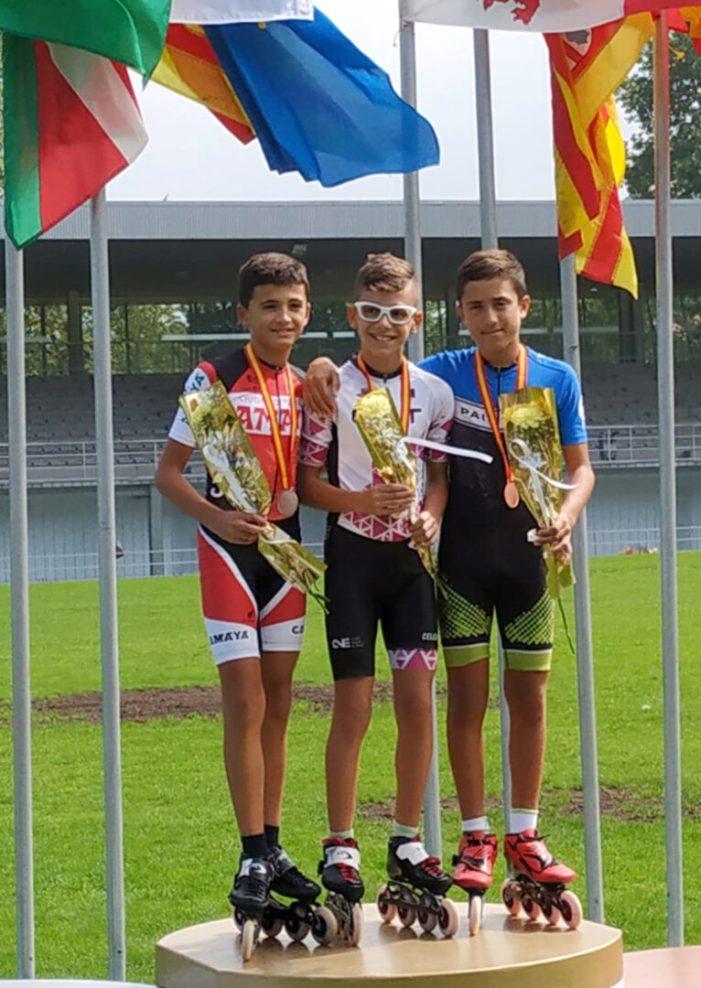 El Club Patinatge Velocitat Paiporta aconsegueix quatre medalles en el Campionat Nacional de Gijón