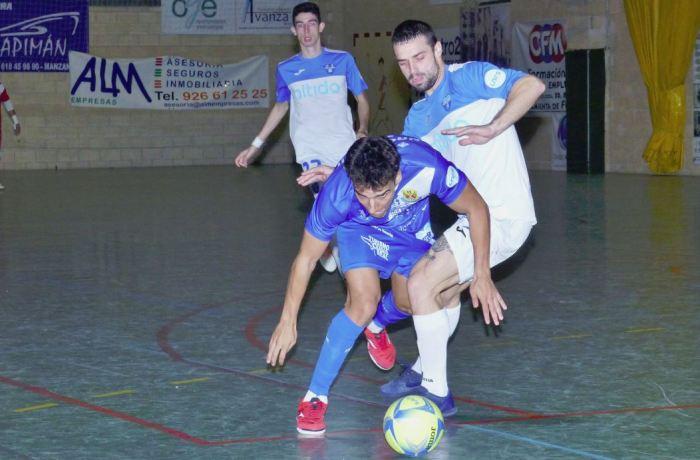 El Nítida Alzira acusa la falta de gol en Manzanares (2-1)