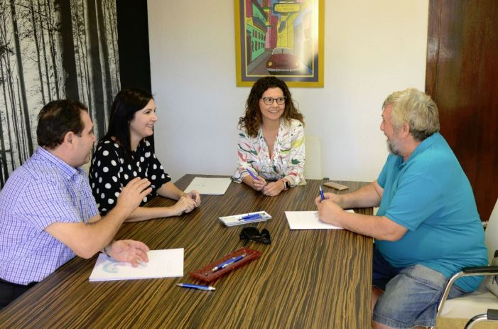 L'Ajuntament de Paiporta renova els convenis de col·laboració amb la Unió Musical i la Banda Primitiva