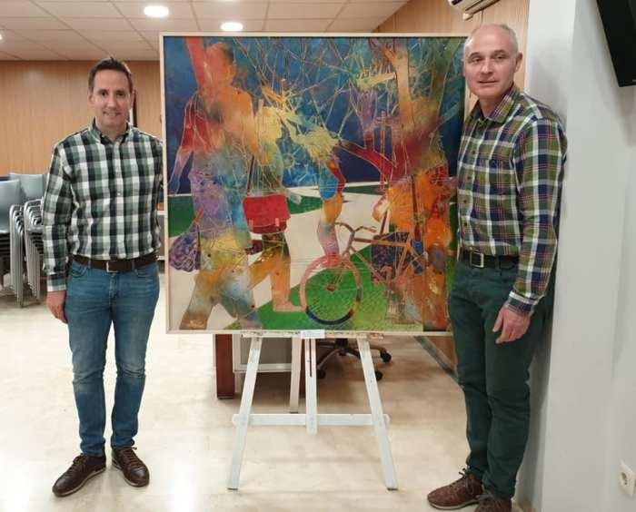 Javier Soria triomfa al Segon Certamen Nacional de Pintura de Foios