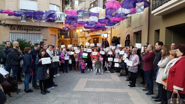 Aldaia diu No a la violència masclista