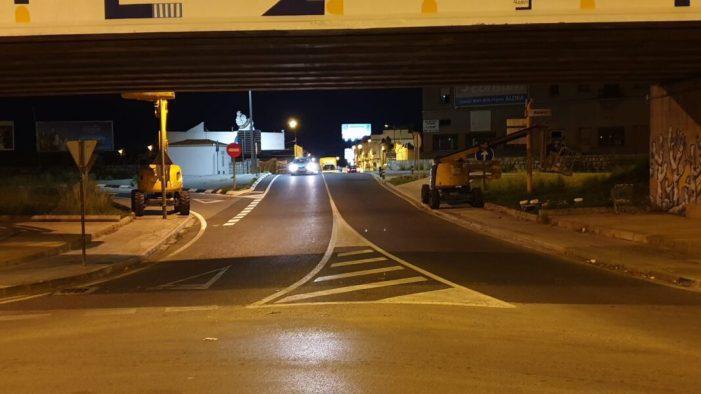 El perill de les obres en el Pont de Xàtiva, d'Alzira