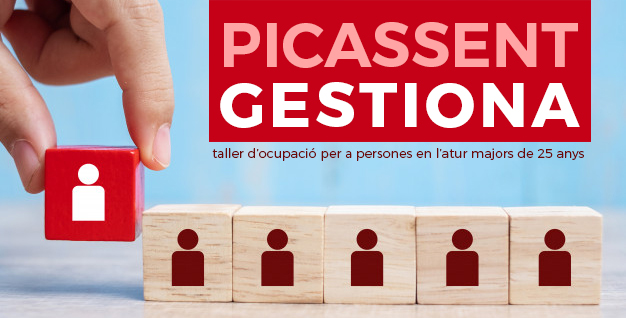 L'Ajuntament de Picassent obri la inscripció a un nou taller d'ocupació que contempla 3 especialitats