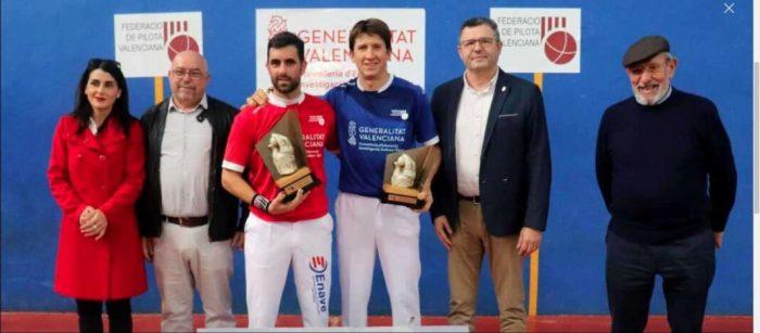 Alejandro De Paterna regna en el Frontó València