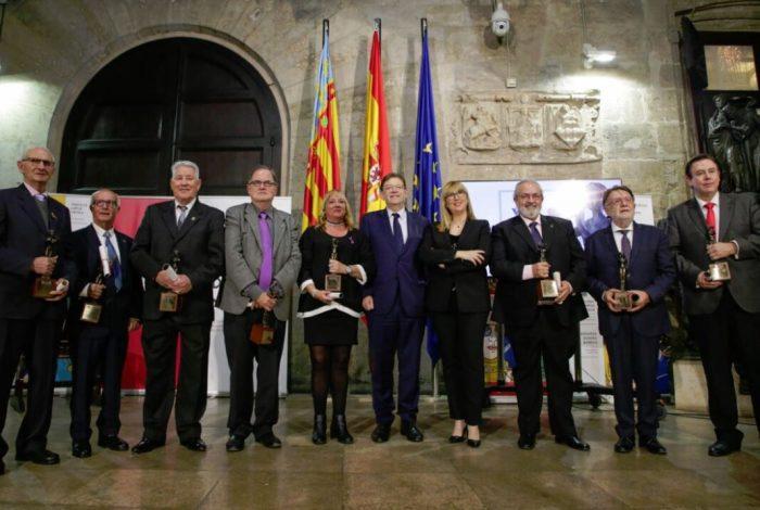 """Ximo Puig destaca la rellevància de les bandes de música com a mostra del patrimoni cultural """"ric, dinàmic i singular"""" de la Comunitat Valenciana"""