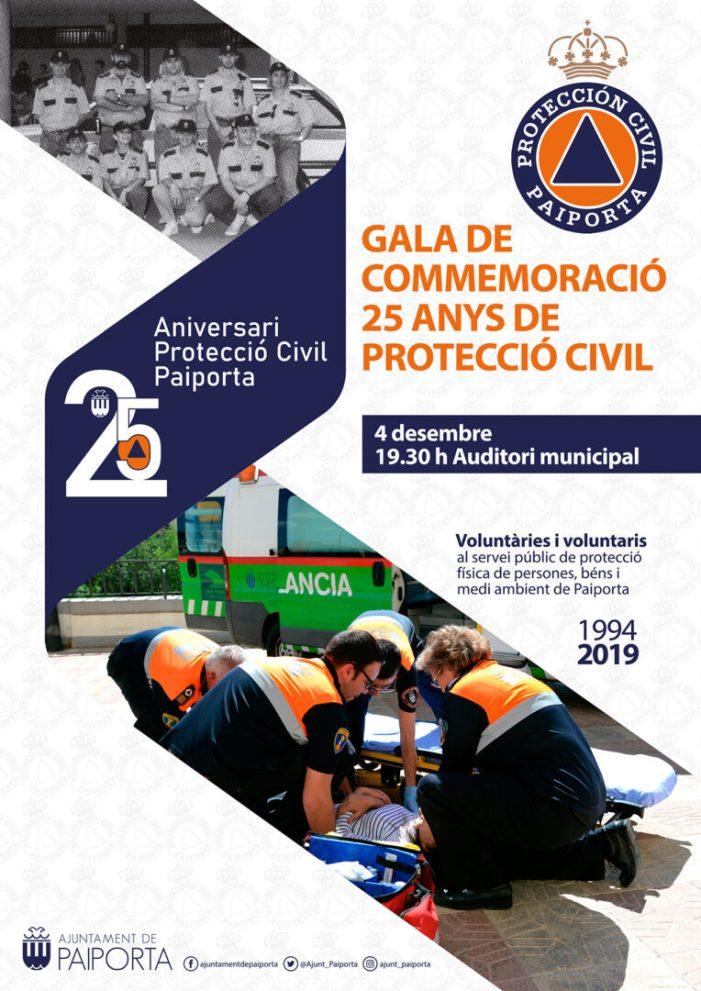 Protecció Civil de Paiporta cumple 25 anys
