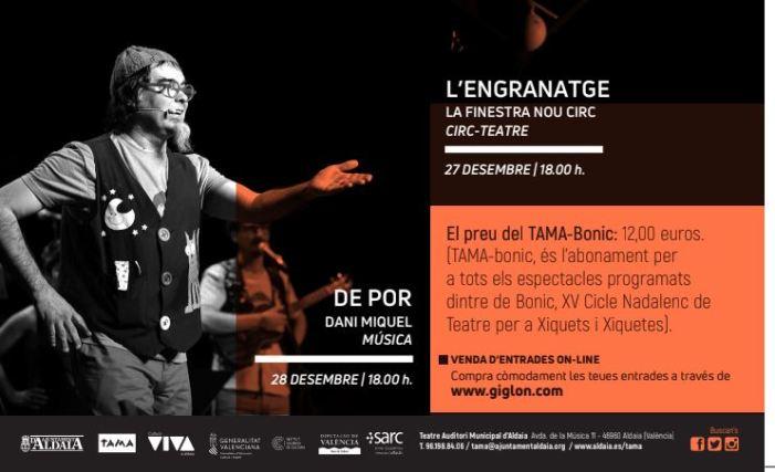 """XV Cicle """"BONIC"""" de Teatre Nadalenc per a Xiquets i Xiquetes"""