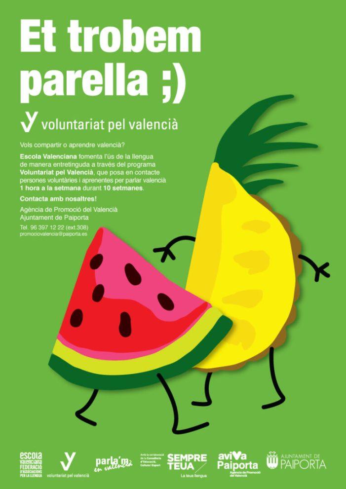 Paiporta reprén el Voluntariat Pel Valencià i manté el Pla de Formació Lingüística del funcionariat