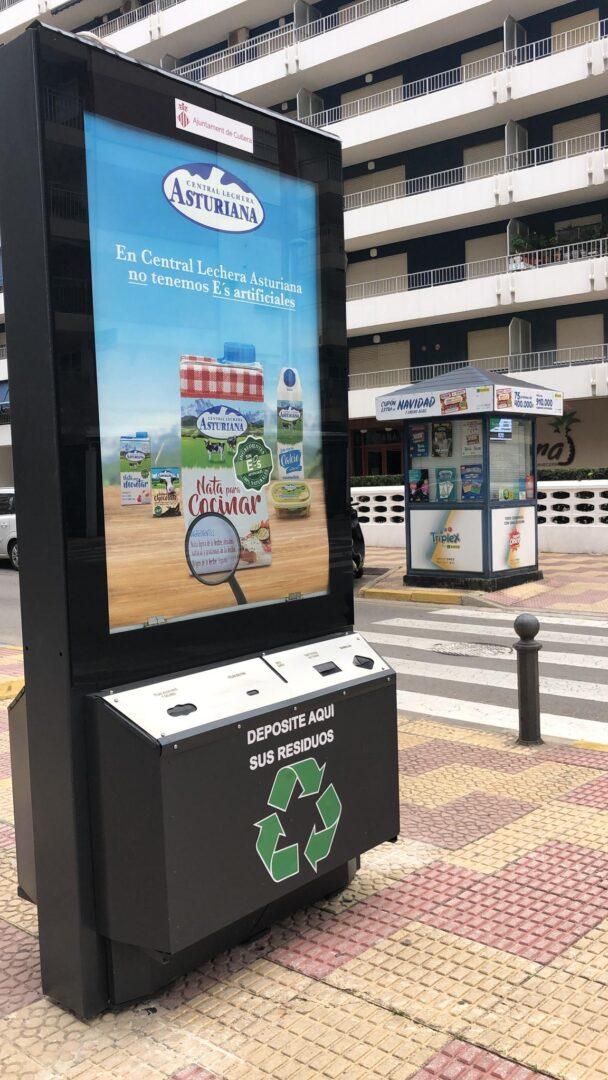 Cullera instal·la sis mòduls per a recollir xicotets residus domèstics