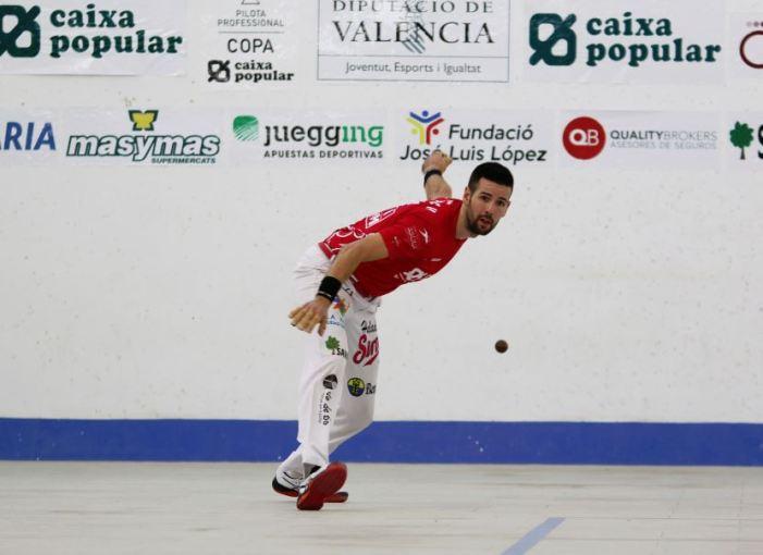 La pilota valenciana d'elit recupera l'activitat esportiva