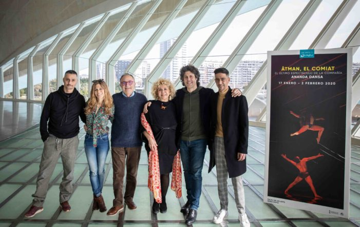 Ananda Dansa s'acomiada dels escenaris a les Arts amb l'estrena d''ÂTMAN, EL COMIAT'